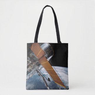 Hubble en la órbita de tierra bolso de tela