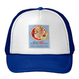 Huelga afortunada gorra