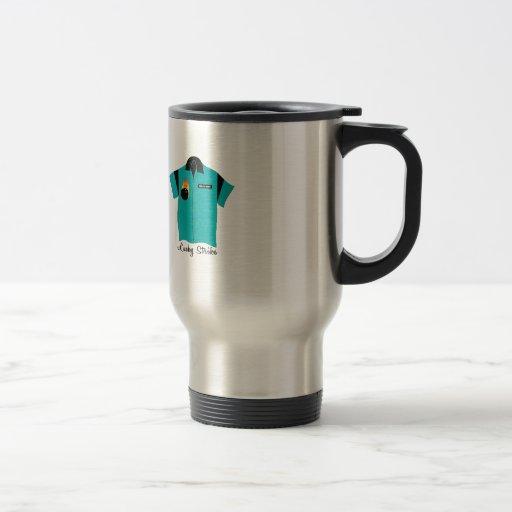 Huelga afortunada taza de café