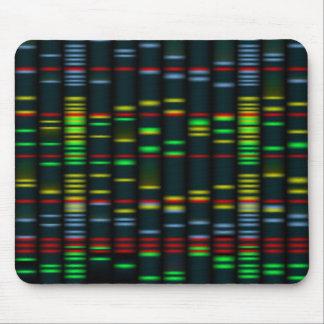 Huella dactilar genética Colorida Mousepad
