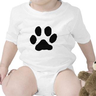 Huella del gato trajes de bebé