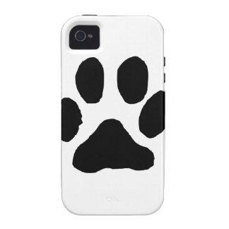 Huella del gato vibe iPhone 4 funda