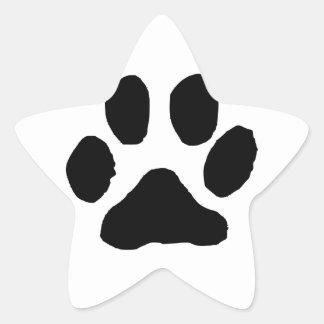 Huella del gato colcomania cuadrada