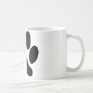 Huella del gato tazas
