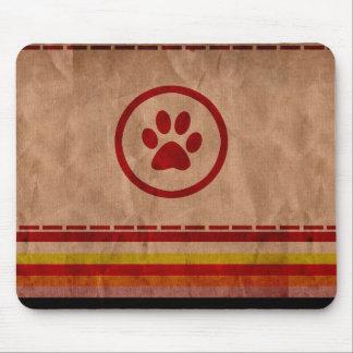 Huella Mousepad del perro Tapete De Raton