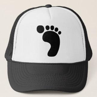 Huella Sasquatch de Bigfoot Gorra De Camionero