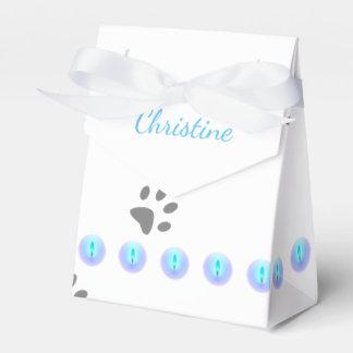 Huellas del gato caja de regalos