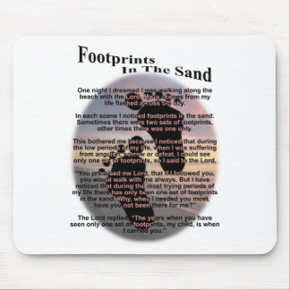 Huellas en la arena… tapete de raton