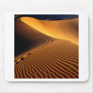 Huellas Namib Namibia África de los desiertos Alfombrillas De Raton