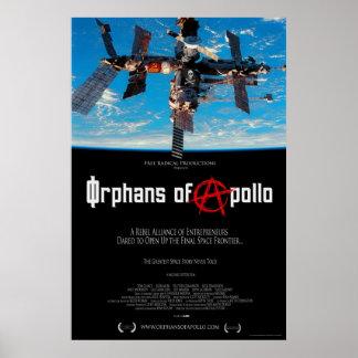 Huérfanos del cartel de película de Apolo Póster