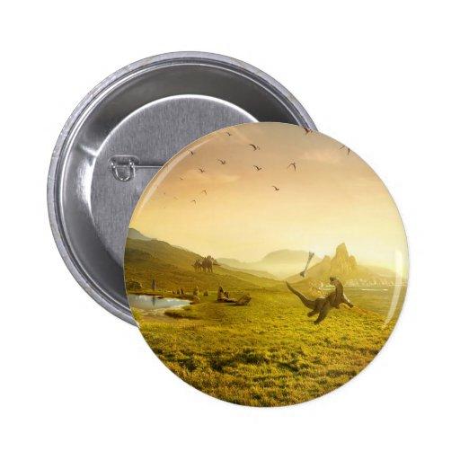 Hueso abstracto Dino de la captura de la fantasía Pin