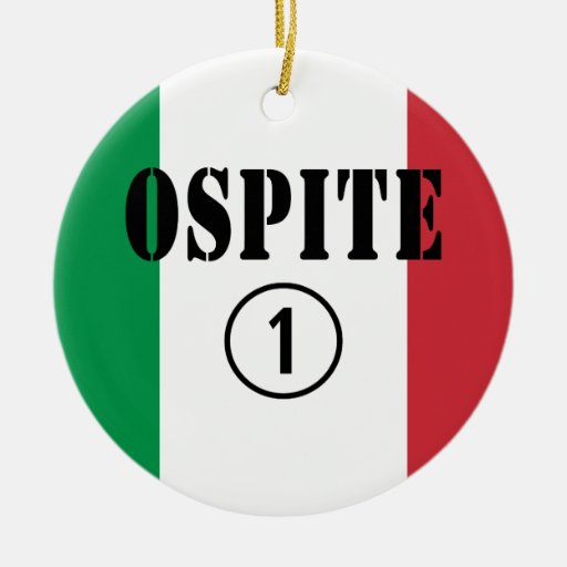 Huéspedes italianas: Uno de Ospite Numero Ornamentos De Reyes Magos