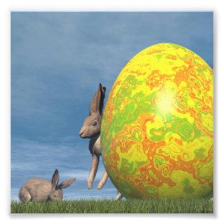 Huevo de Pascua - 3D rinden Foto