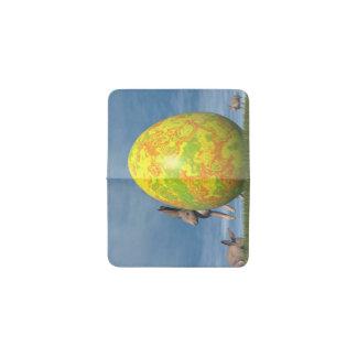 Huevo de Pascua - 3D rinden Tarjetero