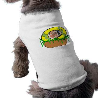 Huevo de Pascua de encargo de la foto en plantilla Camisetas De Perro