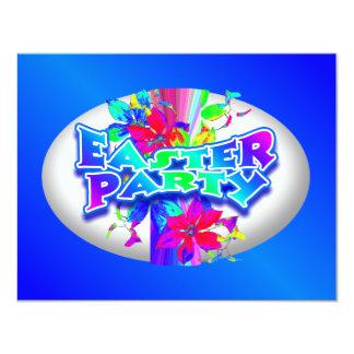 Huevo de Pascua que adorna la invitación del