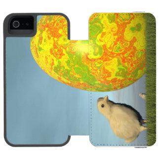 Huevo y polluelos de Pascua - 3D rinden Funda Cartera Para iPhone 5 Watson