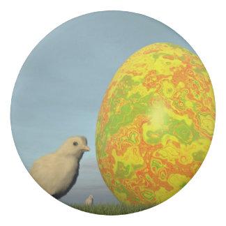 Huevo y polluelos de Pascua - 3D rinden Goma De Borrar