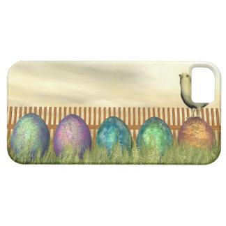 Huevos coloridos para pascua - 3D rinden Funda Para iPhone SE/5/5s