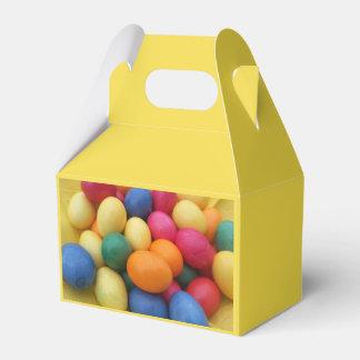 Huevos de Pascua coloreados multi festivos Caja Para Regalos