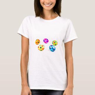 Huevos de Pascua pintados coloridos del pollo del Camiseta