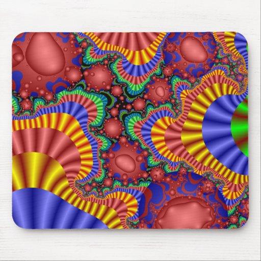 Huevos del fractal alfombrillas de raton