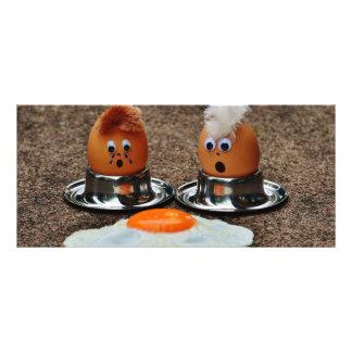 Huevos divertidos lona personalizada