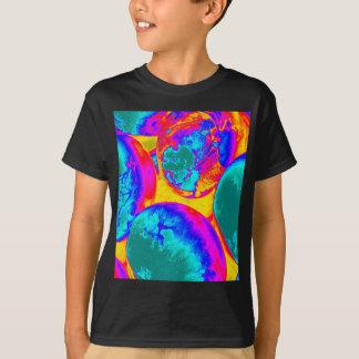 huevos fluorescentes camisetas