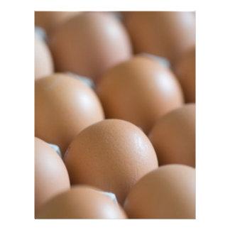 Huevos Folleto 21,6 X 28 Cm