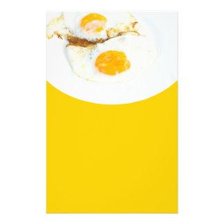 Huevos fritos folleto 14 x 21,6 cm