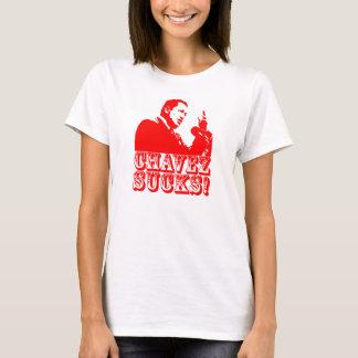 ¡Hugo Chavez chupa! Camiseta