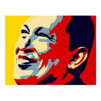 Hugo Chavez - estilo de la esperanza de Obama Postales