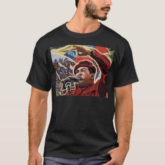 Hugo Chavez - estilo de la revolución del dibujo Camiseta