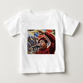 Hugo Chavez - estilo de la revolución del dibujo Camiseta Para Bebé