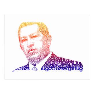 Hugo Chavez - Hugo en estilo de las palabras Postal
