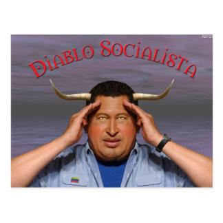Hugo Chavez Tarjeta Postal
