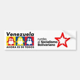 Hugo Chavez Venezuela Pegatina Para Coche
