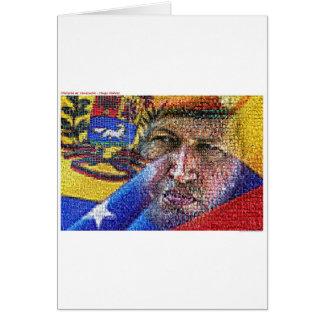 Hugo Chavez - Venezuela Tarjeta De Felicitación
