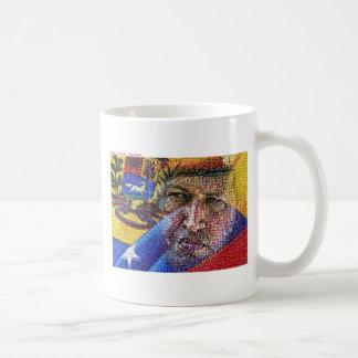 Hugo Chavez - Venezuela Taza Básica Blanca