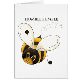 Humilde manosee tarjetas
