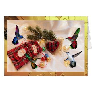 Hummers del navidad tarjeta de felicitación