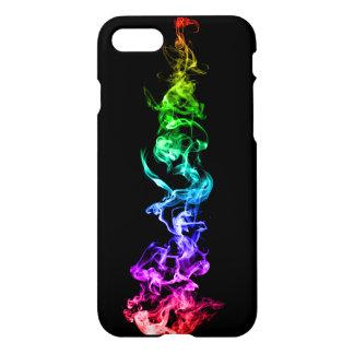 Humo abstracto colorido - un arco iris en la funda para iPhone 8/7