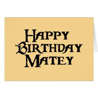 Humor afable del feliz cumpleaños tarjeta de felicitación