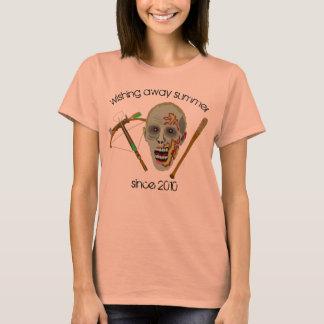 Humor ausente del verano del palo el   de la camiseta