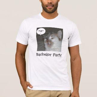 Humor de la despedida de soltero camiseta