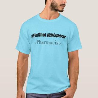 Humor de la vacuna el contra la gripe del camiseta