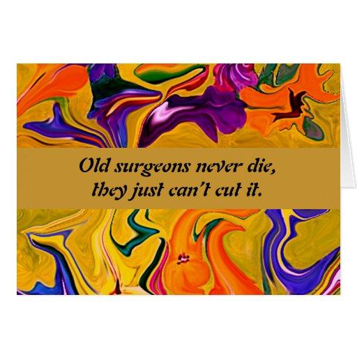 humor de los cirujanos tarjeton