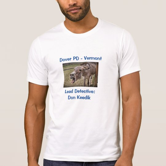 Humor del burro: Camiseta (blanca)