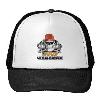 Humor del cocinero: Comida Whiskerer v1 Gorro De Camionero