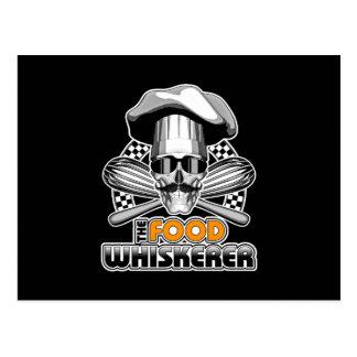 Humor del cocinero: Comida Whiskerer v2 Postal
